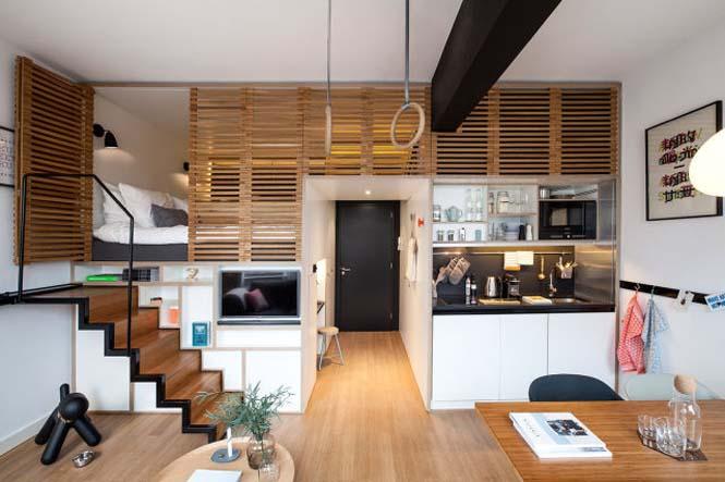 Αυτό το μικροσκοπικό loft εκμεταλλεύεται τέλεια τον μικρό χώρο (1)