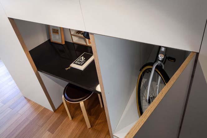 Αυτό το μικροσκοπικό loft εκμεταλλεύεται τέλεια τον μικρό χώρο (5)