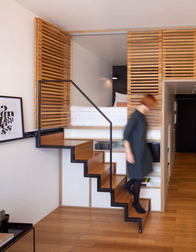 Αυτό το μικροσκοπικό loft εκμεταλλεύεται τέλεια τον μικρό χώρο (8)