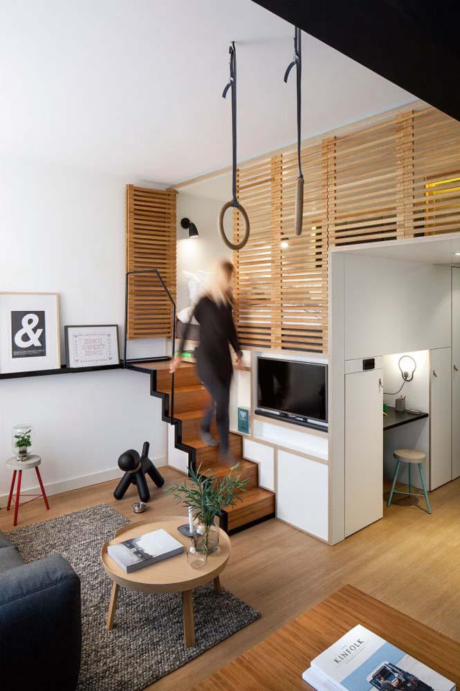 Αυτό το μικροσκοπικό loft εκμεταλλεύεται τέλεια τον μικρό χώρο (11)