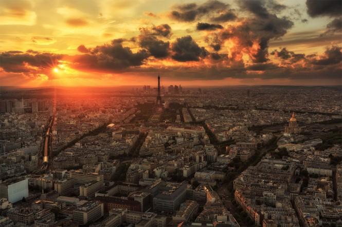 Η πόλη του έρωτα από ψηλά | Φωτογραφία της ημέρας