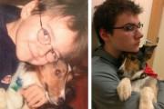 Πρώτες και τελευταίες φωτογραφίες κατοικιδίων σε ένα αφιέρωμα που ραγίζει καρδιές