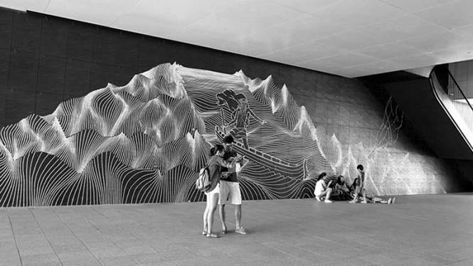 Τέχνη του δρόμου με μονωτική ταινία (12)
