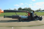 Τρελός επιστήμονας έβαλε μηχανή Jet σε Go-Kart