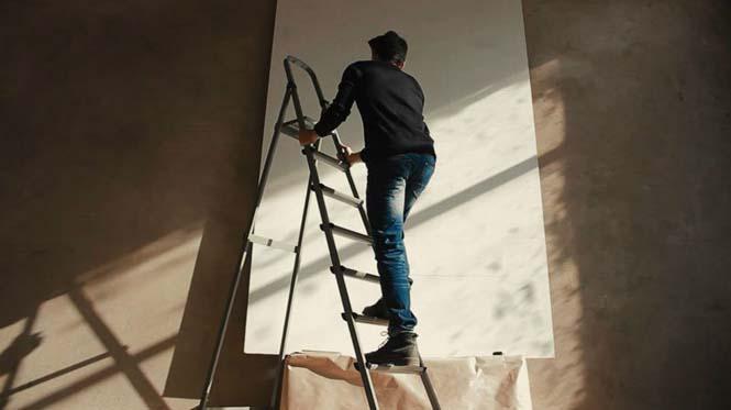 Καλλιτέχνης τύλιξε 24 χιλιόμετρα νήματος γύρω από 13.000 καρφιά για να δημιουργήσει κάτι εκπληκτικό (3)