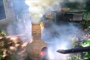 Υπαίθριο τζάκι μετατράπηκε σε ηφαίστειο