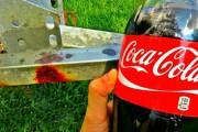 Αφαίρεση σκουριάς με Coca Cola