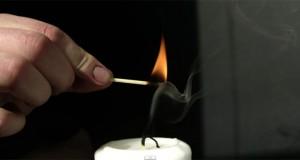 Ανάβοντας ένα κερί χωρίς να το αγγίξετε (Video)