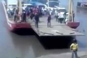 Ανυπόμονος στο ferry boat