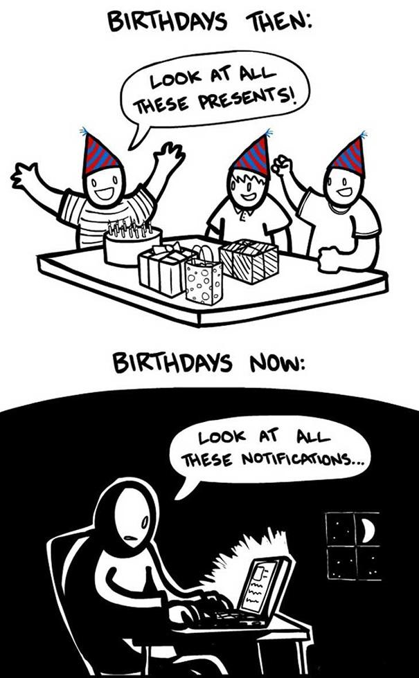Αστεία σκίτσα που δείχνουν πόσο άλλαξε ο κόσμος (4)
