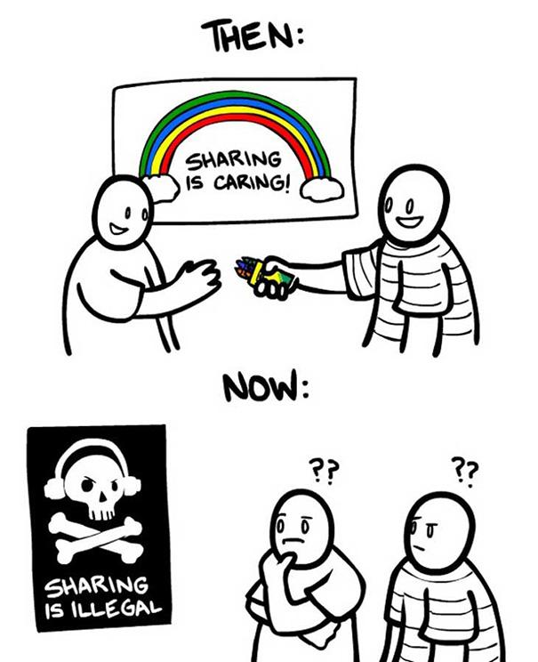 Αστεία σκίτσα που δείχνουν πόσο άλλαξε ο κόσμος (6)