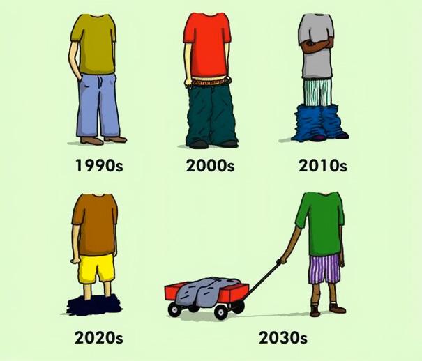 Αστεία σκίτσα που δείχνουν πόσο άλλαξε ο κόσμος (10)