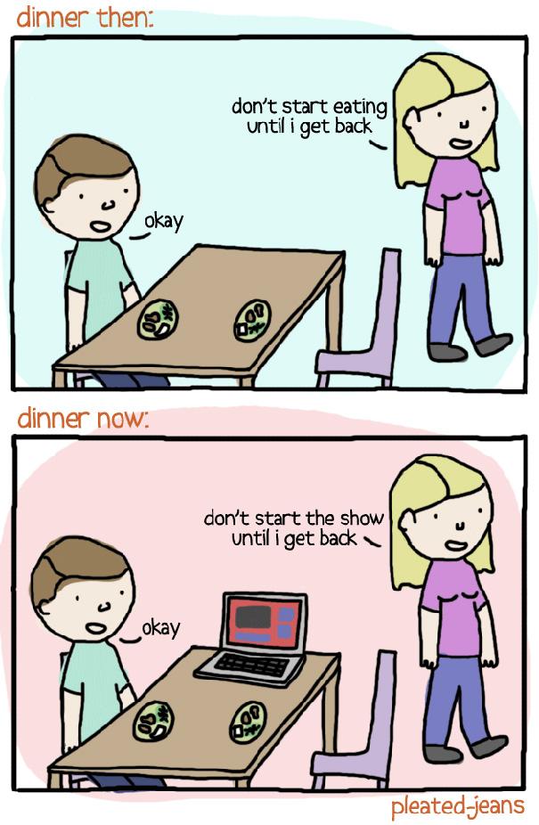 Αστεία σκίτσα που δείχνουν πόσο άλλαξε ο κόσμος (12)