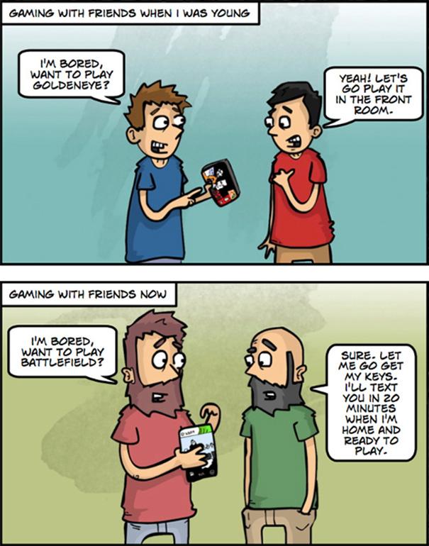 Αστεία σκίτσα που δείχνουν πόσο άλλαξε ο κόσμος (15)