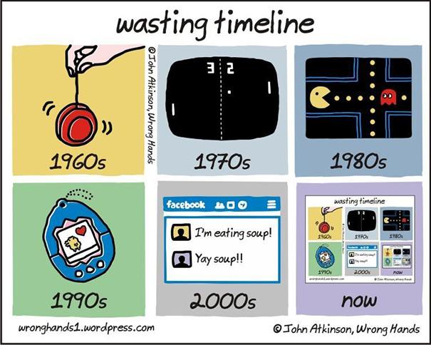 Αστεία σκίτσα που δείχνουν πόσο άλλαξε ο κόσμος (1)