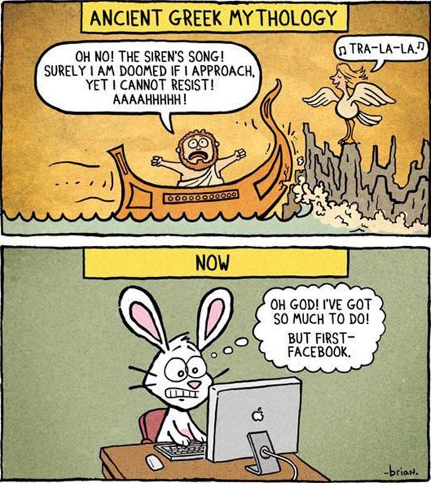 Αστεία σκίτσα που δείχνουν πόσο άλλαξε ο κόσμος (16)