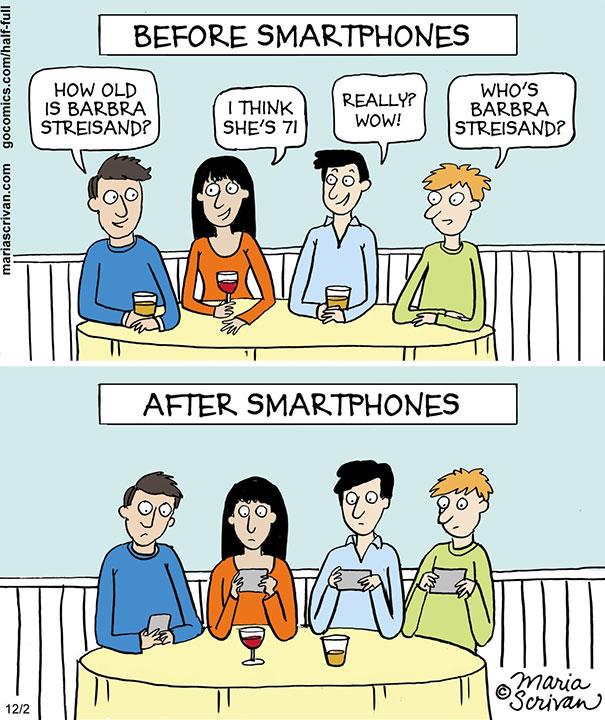 Αστεία σκίτσα που δείχνουν πόσο άλλαξε ο κόσμος (19)