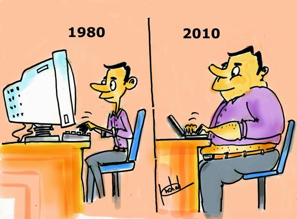Αστεία σκίτσα που δείχνουν πόσο άλλαξε ο κόσμος (2)