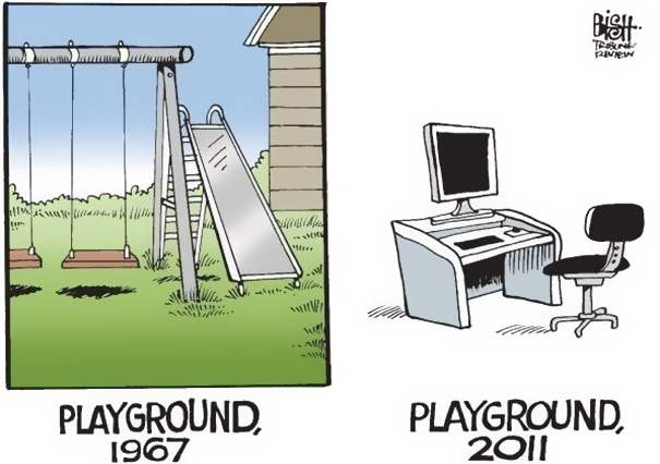 Αστεία σκίτσα που δείχνουν πόσο άλλαξε ο κόσμος (22)