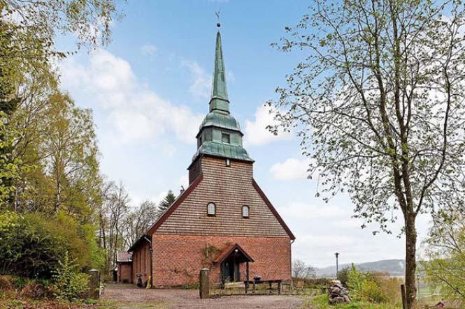 Εκκλησία στη Σουηδία μετατράπηκε σε σπίτι (1)