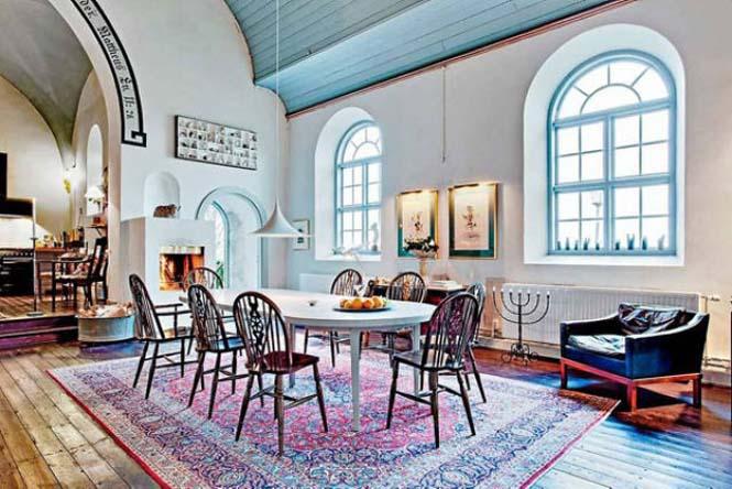 Εκκλησία στη Σουηδία μετατράπηκε σε σπίτι (4)