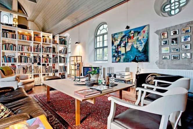 Εκκλησία στη Σουηδία μετατράπηκε σε σπίτι (12)