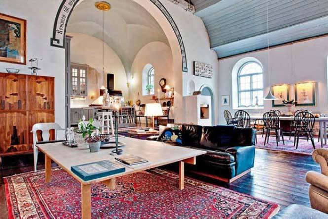 Εκκλησία στη Σουηδία μετατράπηκε σε σπίτι (13)