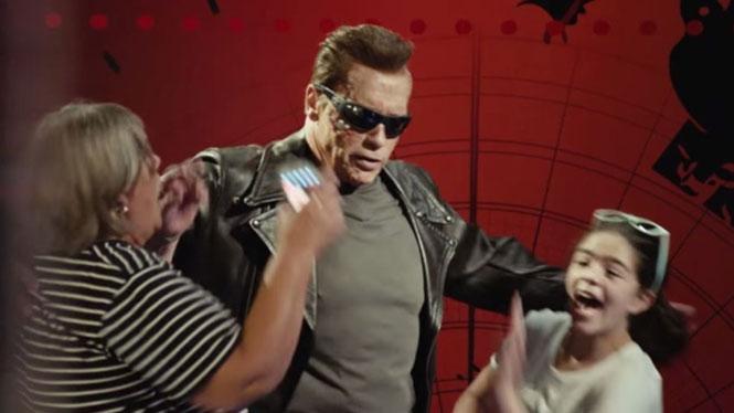 Φάρσα Arnold Schwarzenegger