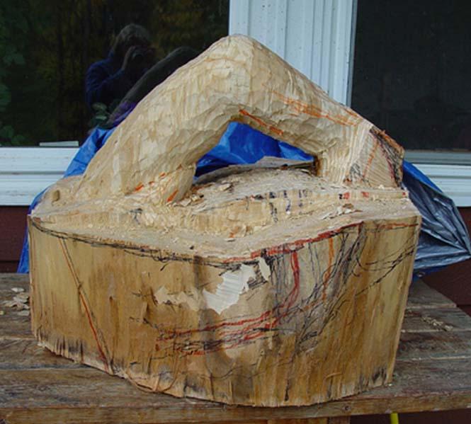 Γλύπτης μετέτρεψε κομμάτι ξύλου σε κάτι εκπληκτικό (2)