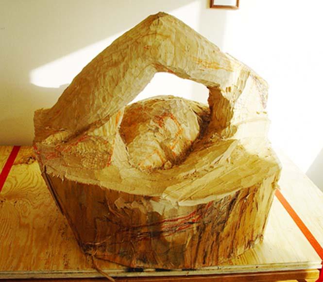 Γλύπτης μετέτρεψε κομμάτι ξύλου σε κάτι εκπληκτικό (3)