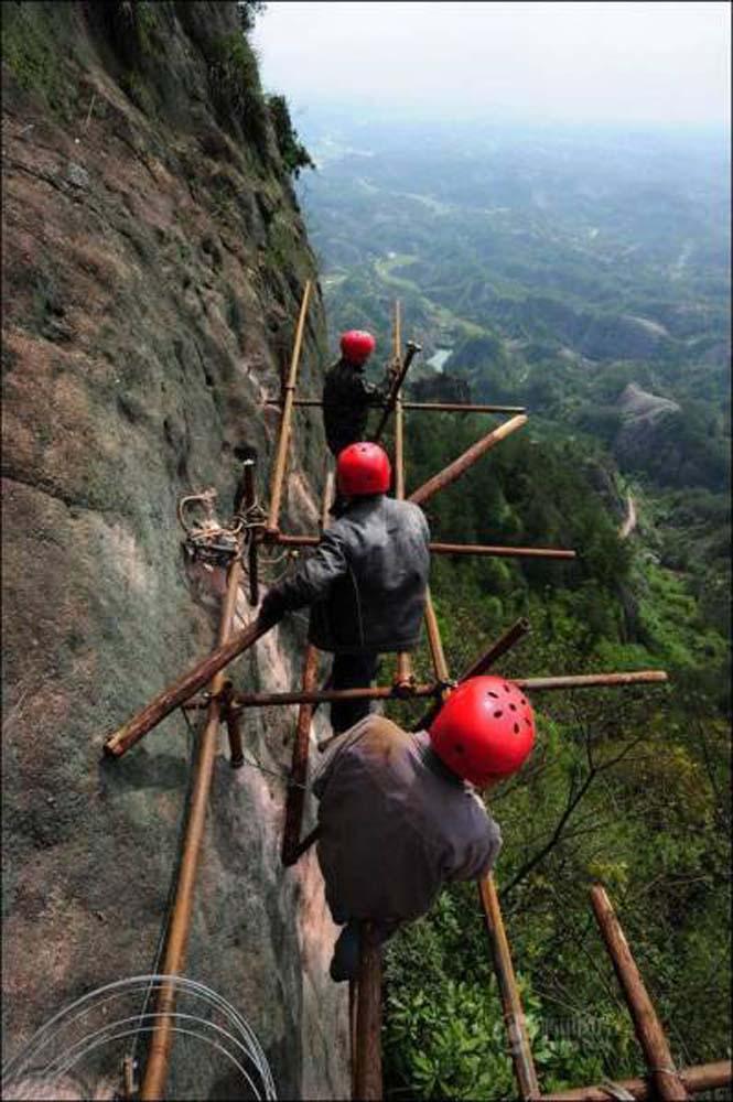 Κατασκευάζοντας ένα ορεινό μονοπάτι στην Κίνα (3)