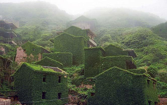 Το Κινεζικό χωριό - φάντασμα που έγινε ένα με την φύση (1)