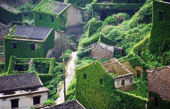 Το Κινεζικό χωριό - φάντασμα που έγινε ένα με την φύση (2)