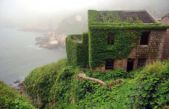 Το Κινεζικό χωριό - φάντασμα που έγινε ένα με την φύση (6)