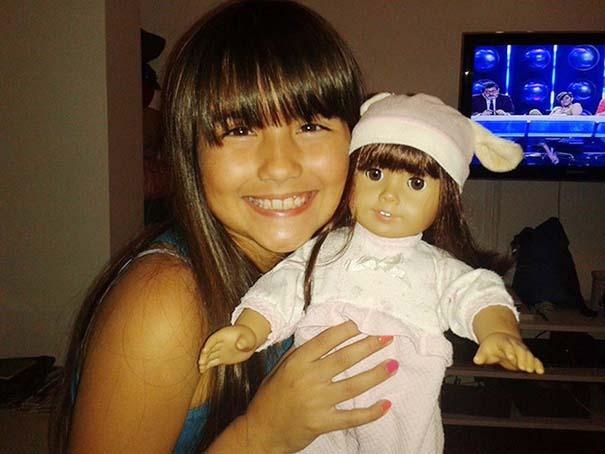 Μωρά που μοιάζουν με τις κούκλες τους (6)