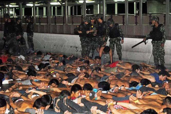 Αυτό συμβαίνει σε όσους κάνουν παράνομες κόντρες στους δρόμους της Ταϊλάνδης (3)