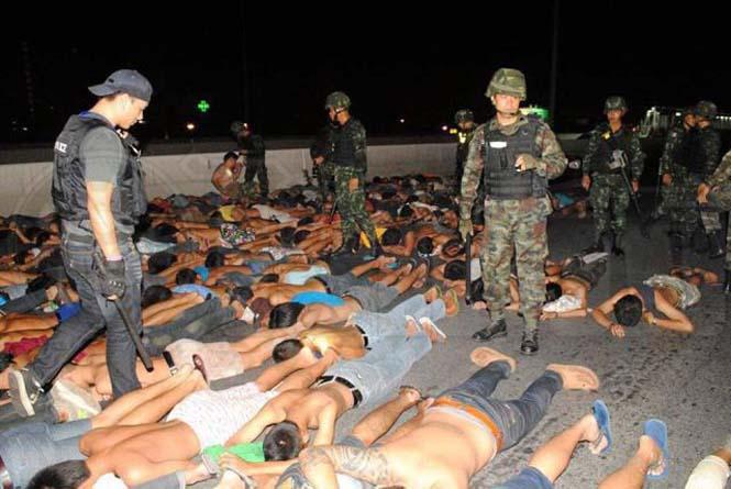 Αυτό συμβαίνει σε όσους κάνουν παράνομες κόντρες στους δρόμους της Ταϊλάνδης (6)