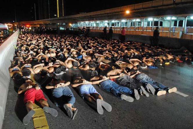 Αυτό συμβαίνει σε όσους κάνουν παράνομες κόντρες στους δρόμους της Ταϊλάνδης (7)