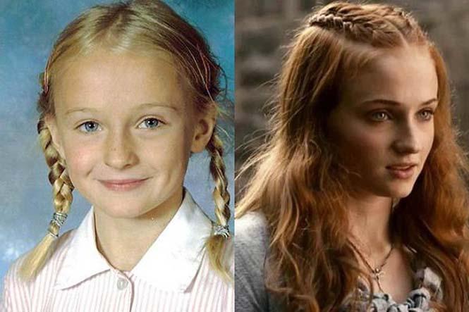 Πρωταγωνιστές Game of Thrones σε νεαρή ηλικία (6)