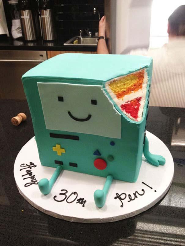 Πρωτότυπες τούρτες που θα λυπόσουν να κόψεις (9)