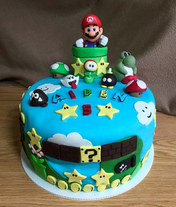 Πρωτότυπες τούρτες που θα λυπόσουν να κόψεις (15)