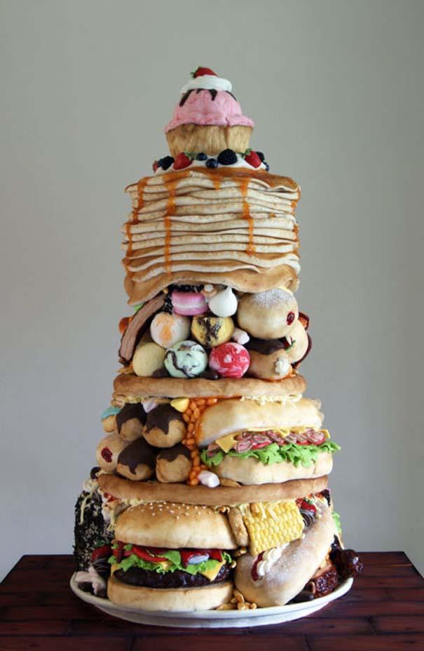 Πρωτότυπες τούρτες που θα λυπόσουν να κόψεις (25)