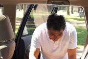 Ψήνοντας μια πίτσα... στο αυτοκίνητο!