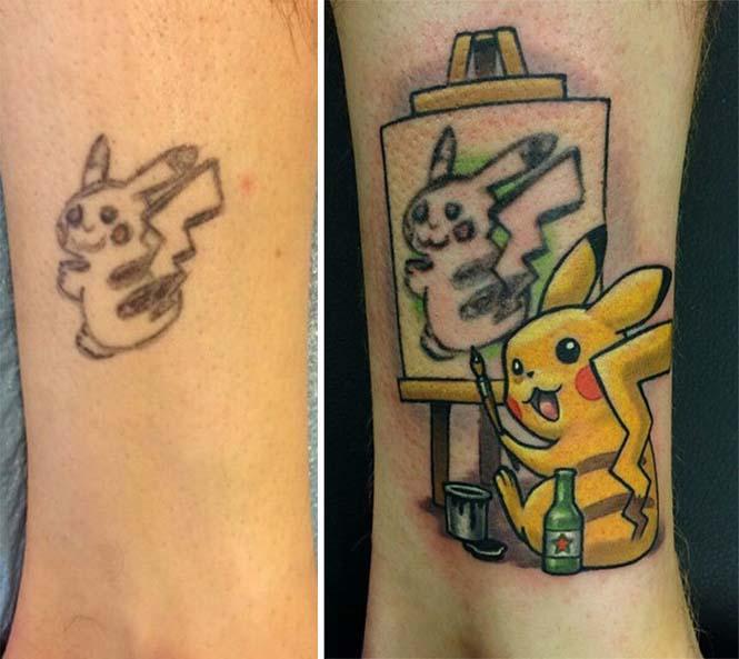 Πως να μετατρέψετε τον Pikachu σε Picasso (4)