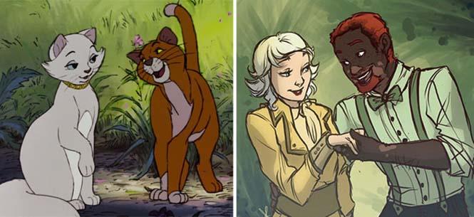 Πως θα ήταν τα ζώα της Disney αν είχαν την μορφή ανθρώπου (7)