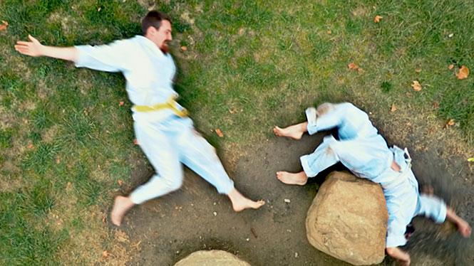 Stop-motion karate