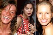 Supermodels χωρίς μακιγιάζ (1)