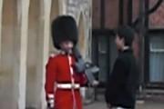 Τουρίστας μαθαίνει γιατί δεν πρέπει να παρενοχλείς την Βασιλική Φρουρά