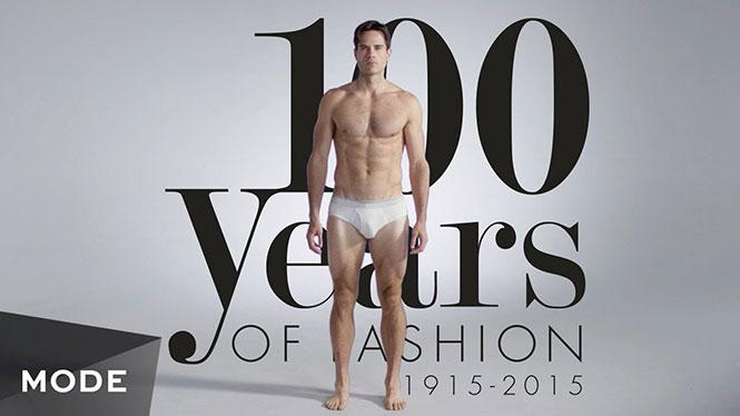 100 χρόνια ανδρικής μόδας σε 3 λεπτά