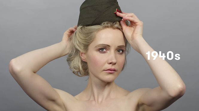 100 χρόνια Ρώσικης ομορφιάς σε 1,5 λεπτό